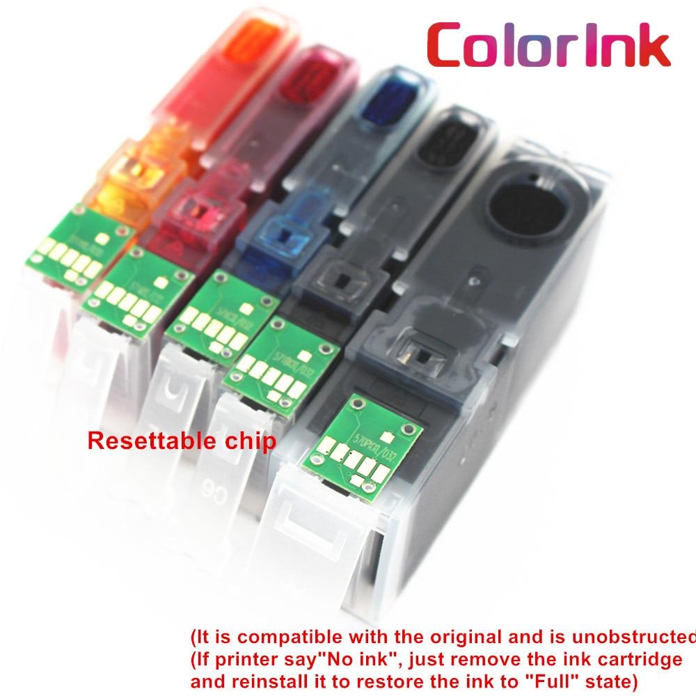 Чернильный картридж ColorInk 550XL 551XL pgi-550 pgi 550 cli-551 XL PGI550 CLI551 для Canon PIXMA IP7250 MG5450 MX925 MG5550 6450 5650