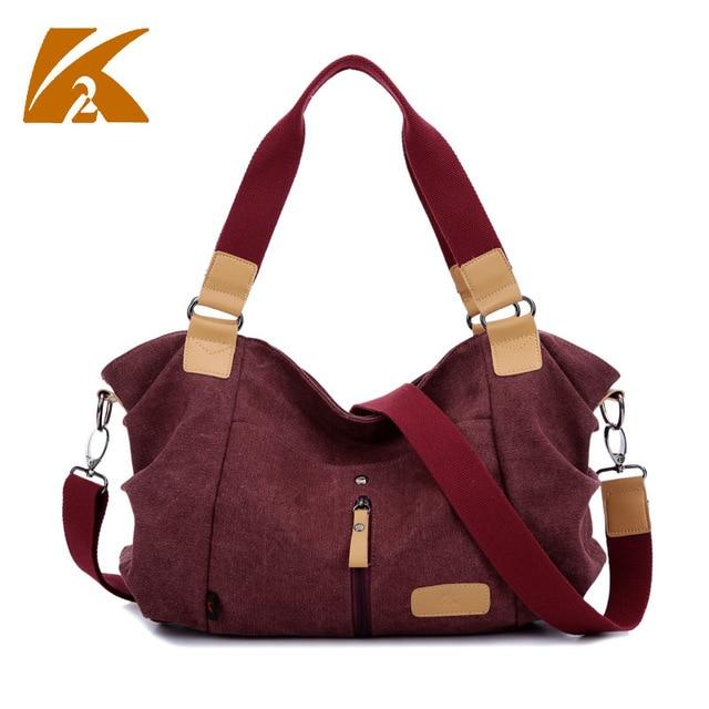 Korean Canvas Shoulder Tote Bag Fabric Handbags Woman Handbag Luxury Designers Vintage Messenger Bags Crossbody