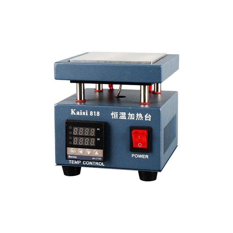 Kaisi 818 Bga Rework Station LCD Screen Display Preheating Station Platform for Mobile Phone Repair BGA
