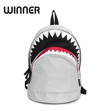 Прохладный школьный Большая акула мультфильм рюкзак черный плюшевые модные Начальная школа Рюкзаки Обувь для мальчиков рюкзак Bagpack