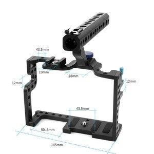 Image 3 - מצלמה כלוב מגן מקרה הר עבור Panasonic GH3 / GH4 עם למעלה ידית אחיזת מצלמה תמונה סטודיו ירי קיט