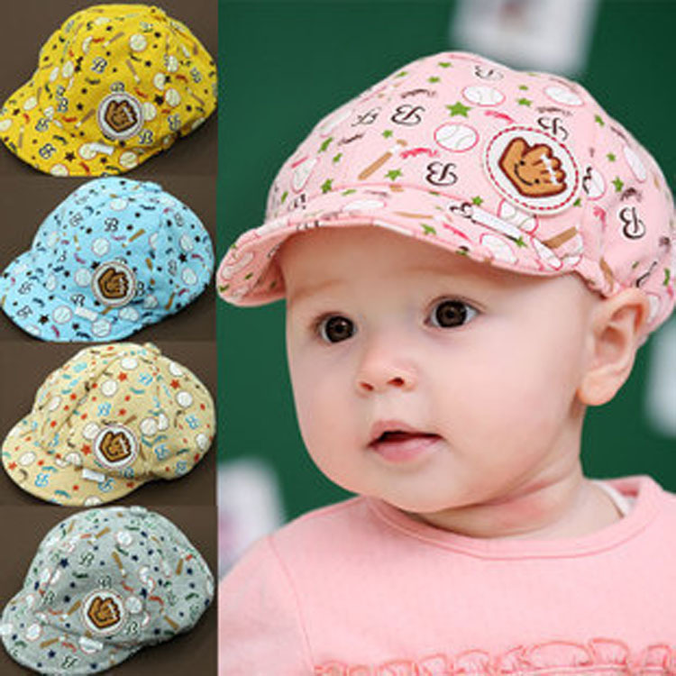 Новые модные детские для маленьких мальчиков девушки летнее солнце Шапки Детские Toodler мальчик для девочек хлопка шляпа солнца Бейсбол милы...
