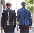 Nueva marca de fábrica caliente discotecas chaquetas GD trajes de cadena modelos de pasarela vestido derecho Zhilong mismo párrafo trajes del cantante de ropa