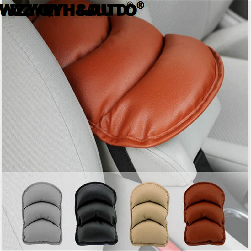 Car Armrests Cover Pad Vehicle Center Console Arm Rest Seat Pad For Ford Focus 2 3 Peugeot 206 207 307 308 407 Auto Accessories vehicle car accessories auto car seat cover back protector for children kick mat mud clean bk
