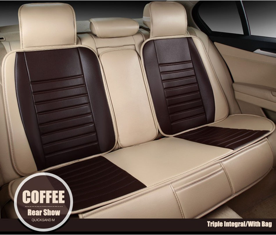 Only Rear Universal Leather Car Seat Covers For