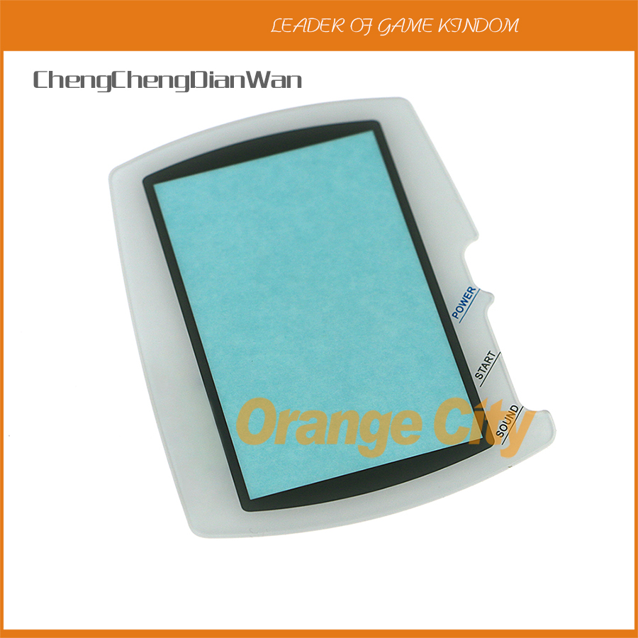 ChengChengDianWan Protector cover lens for BANDAI Wonder Swan WSC screen lens with double side tape