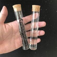 22*120mm 30ml 빈 투명 투명 병 코르크 마 개 유리 병 항아리 저장소 병 테스트 튜브 항아리 50 개/몫