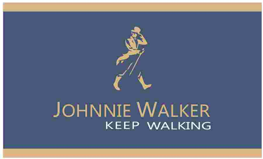 Johnnie Walker Flag 3x5 ft Indoor//Outdoor Banner