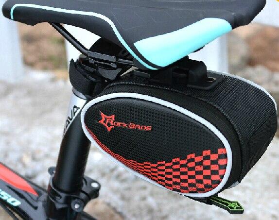 Wearable Bike font b saddle b font font b bag b font Zipper font b bicycle