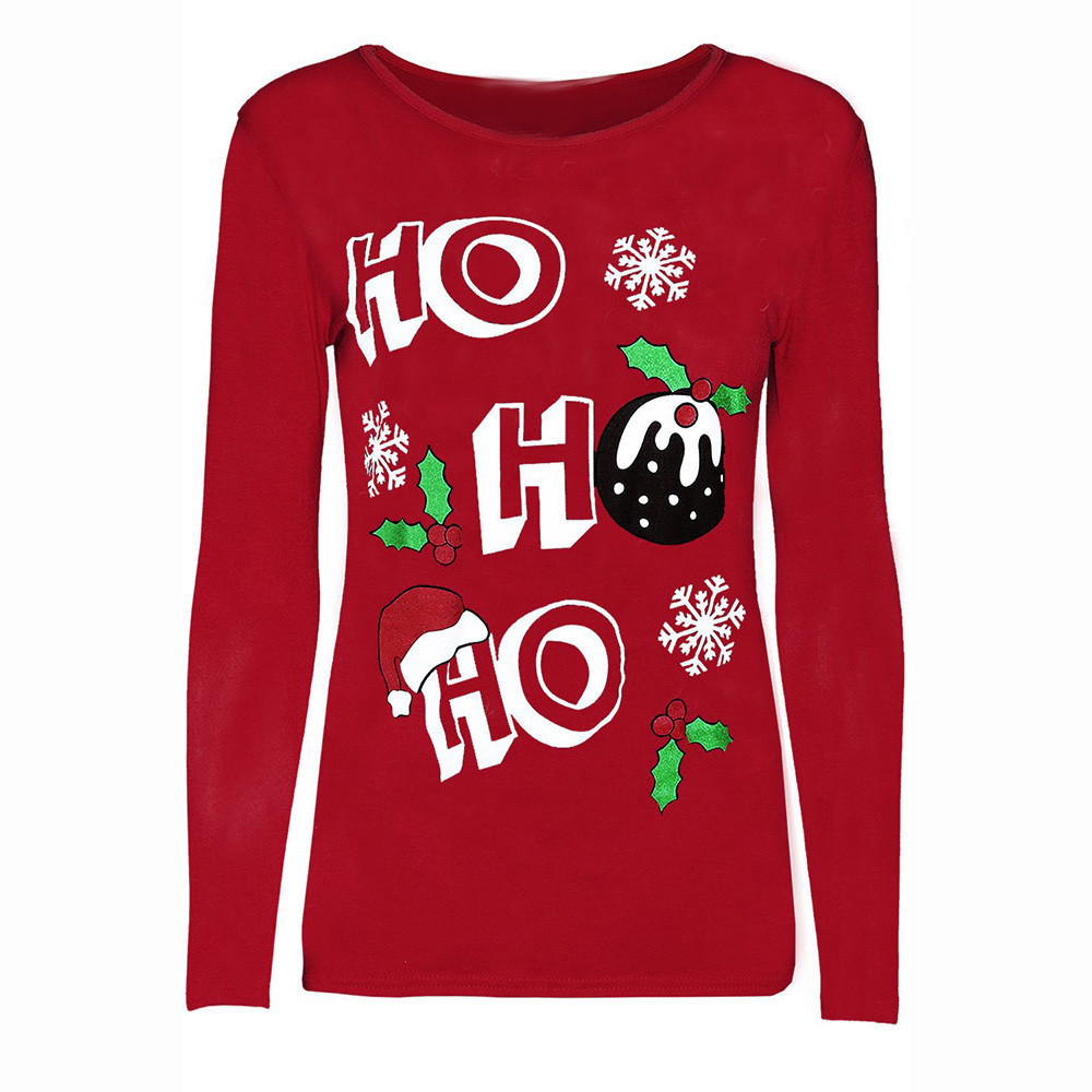 Merry Christmas Letter T.Buy Merry Christmas Long Sleeve Shirt And Get Free Shipping