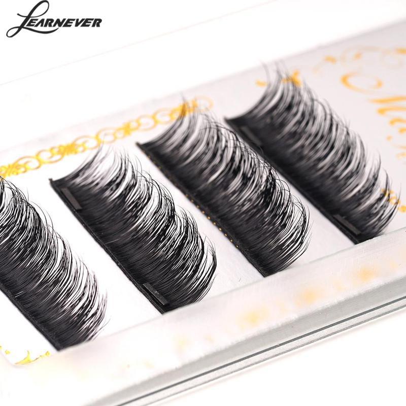 4pcs/Lot 3D False Magnetic Eyelashes Mink Hair Makeup Eyelashes Lengthen Natural Long Thick Beauty Eye Lashes Eyelash Extension