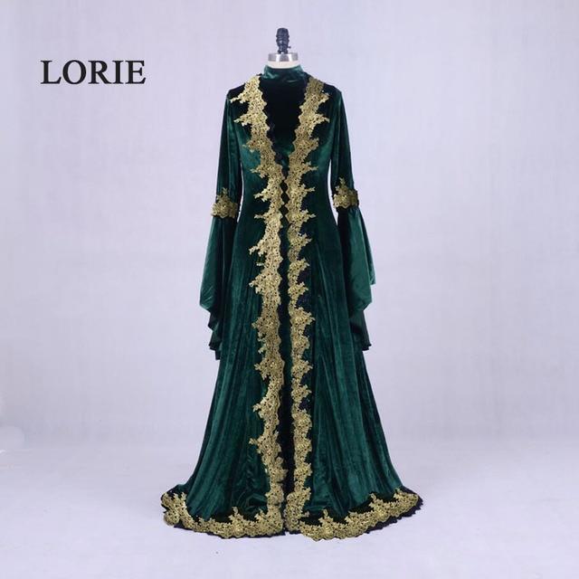 Lorie Moroccan Kaftan Aarabic Evening Gowns Dresses Dubai Velvet
