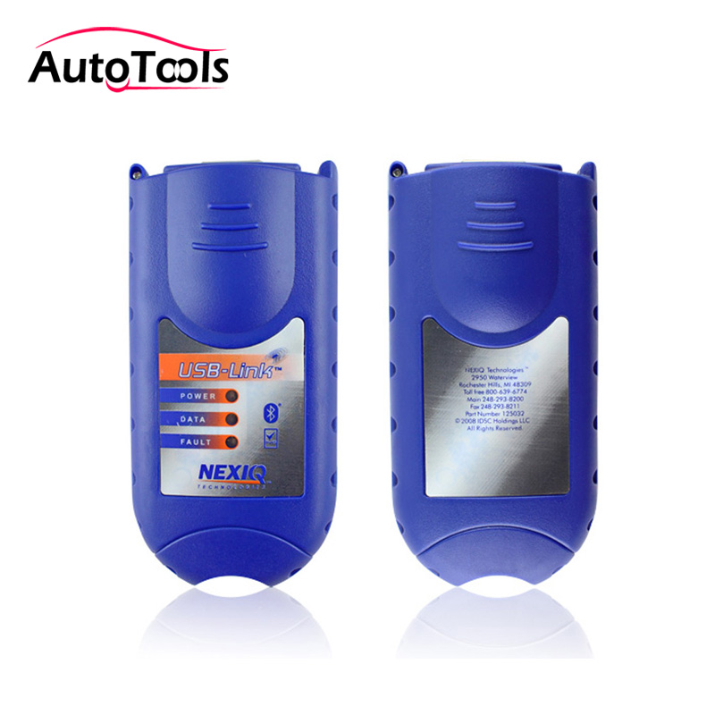 Bluetooth NEXIQ 125032 USB Link+Software Diesel Truck Diagnose Interface Nexiq USB Link with All Installers