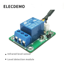 купить Level sensor Water level induction monitoring switch high precision corrosion resistance Based on infrared function demo board дешево