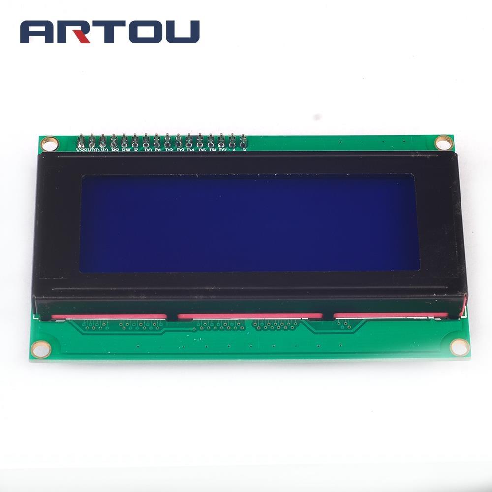 1PCS 2004 20X4 Character LCD Module 20X4 LCD Blue Display Serial IIC/I2C/TWI PCB Board