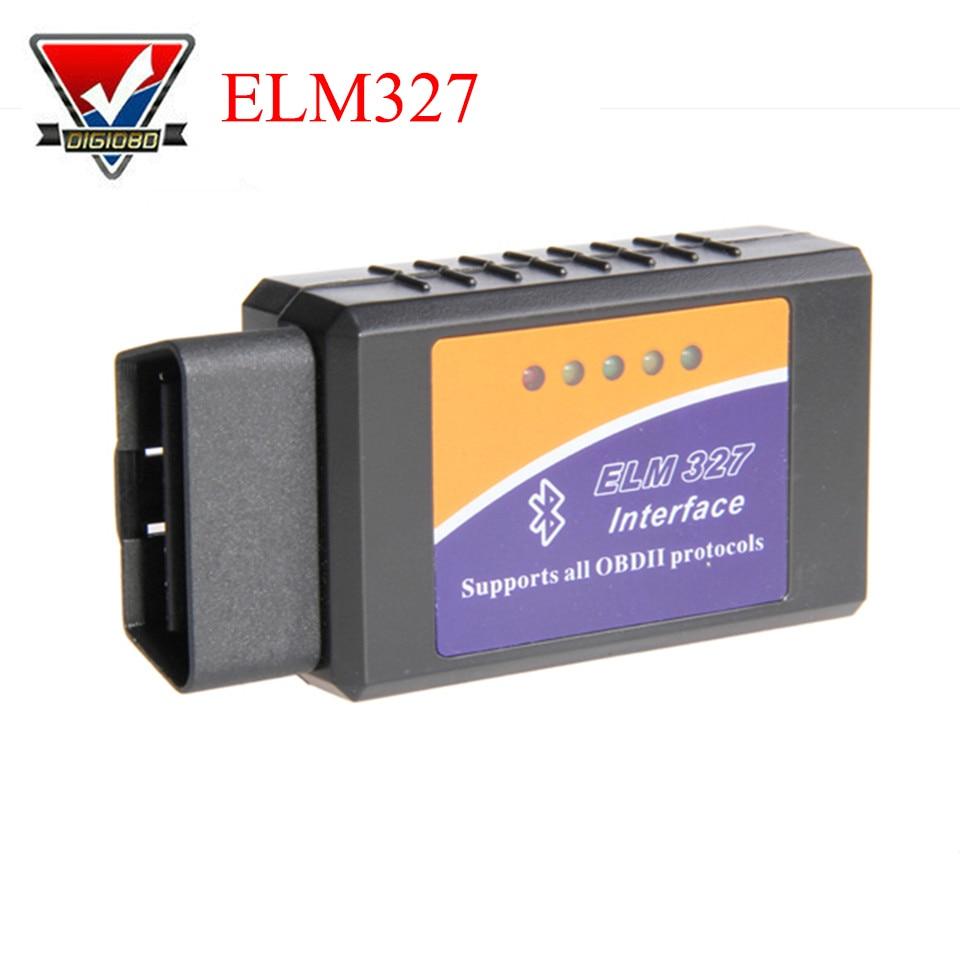 PIC18F25K80 Chip Super OBD2 ELM327 WIFI/Bluetooth V1.5 Hardware Funziona Android/iOS ELM 327 Per Android Telefono Funziona Diesel