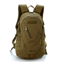 Outdoor Waterproof 3D Military Tactical Backpack Rucksack Bag 20L For Camping Traveling Riding Hiking Trekking Sports