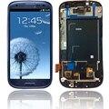 Для Samsung Galaxy S3 I9300 ЖК-Дисплей С Сенсорным Стекла Digitizer Ассамблеи Полный Набор Запасных Частей, бесплатная доставка!