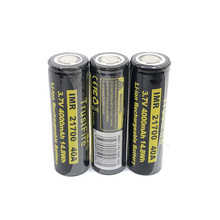 20pcs/lot TrustFire 21700 3.7V 40A 4000mAh 14.8W Lithium Battery Rechargeable Batteries with Safety Relief Valve for Headlamp/Bicycle Lamp 20pcs lot trustfire 21700 3 7v 40a 4000mah 14 8w lithium battery rechargeable batteries with safety relief valve for headlamp bicycle lamp