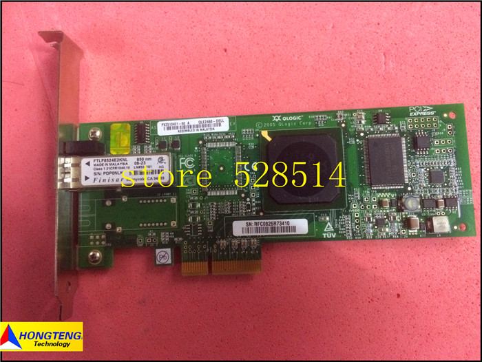 Original 0PF323 for DELL QLE2460 4GB 1x LC Fibre Channel 100% Test ok