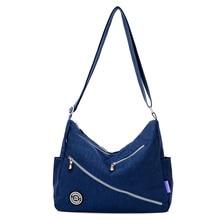 Fashion Women Messenger Bags for Women Waterproof Nylon Handbag Female Shoulder Bag Ladies Crossbody Bags bolsa sac a main femme недорого