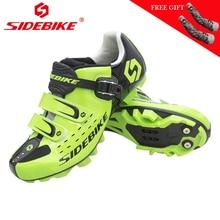SIDEBIKE ciclismo zapatos mtb hombre bicicleta mountain bike racing zapatillas profesional autoblocante mtb zapatos scarpe bici corsa