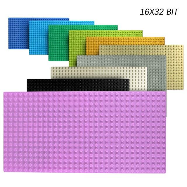 32*32 Dots Classic Base Plates Compatible City Dimensions Building Blocks Construction Toys For Children 1