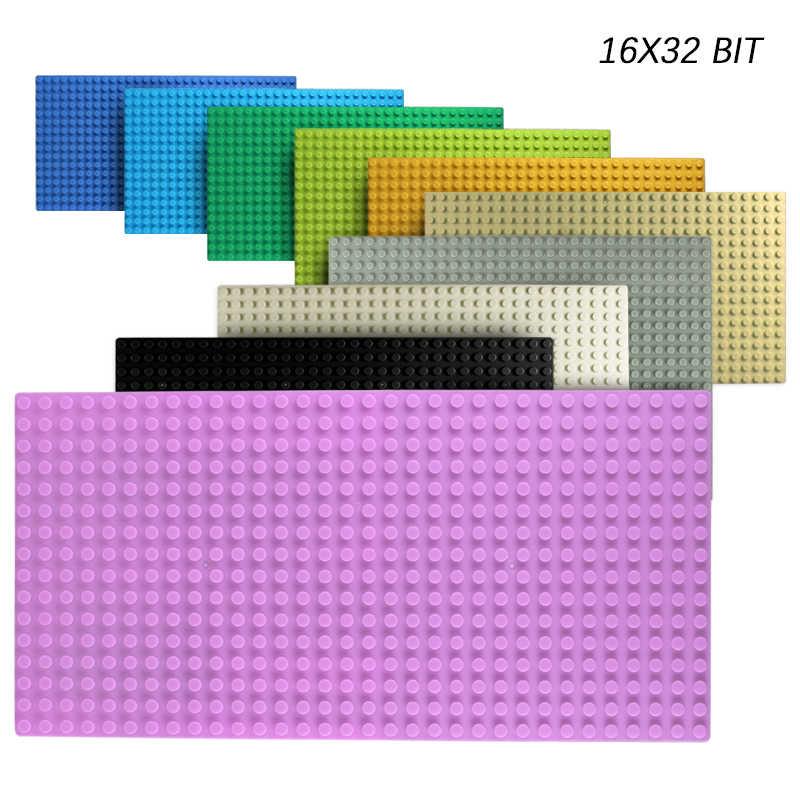 32*32 pontos Clássicos LegoINGlys Baseplates Placas de Base Compatível Dimensões de Construção Da Cidade Blocos de Construção de Brinquedos Para Crianças
