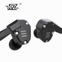 KZ ZS6 2DD 2BA Hybrid In Ear Earphone HIFI DJ Monito Running Sport Earphone Earplug Headset