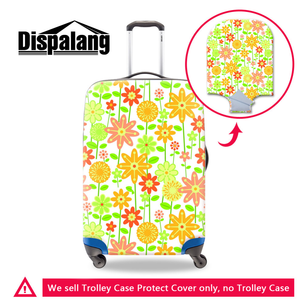 -21 creative design horse travel protective cover for 18-30 inch trolley suitcase rain dust protector covers