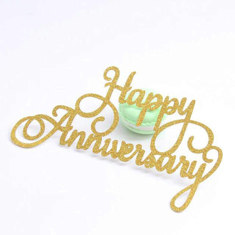 Happy Anniversary Die Word Metal Cutting Dies Craft Dies for DIY Scrapbooking paper card making Decorative Embossing