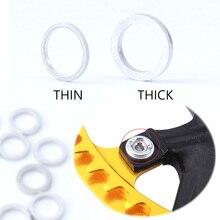 MUQZI, цепь для горного велосипеда, пластина колеса, винтовая прокладка для ногтей, зубная пластина, винт, болт, шайба, фиксированная шестерня, для изменения ногтей, болт с кольцом