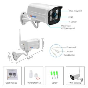 Image 5 - Besder 5MP 720P Audio Onvif Draadloze Alarm Push P2P Wifi Camera Kogel Outdoor Ip Camera Met Sd Card Slot max 128Gb Icsee App