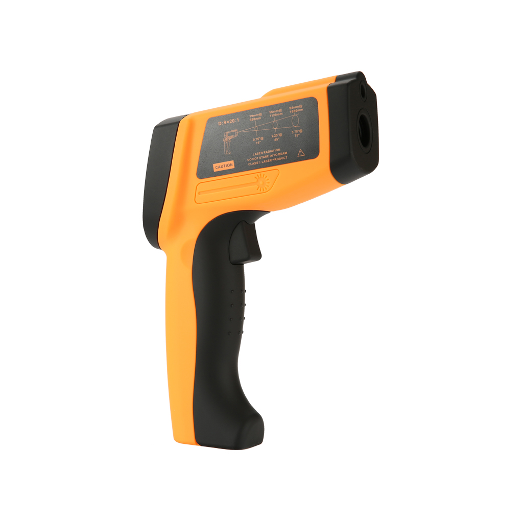 GM1150 Non-contact Infrared Thermometer Handheld Pyrometer IR Temperature Meter with LCD Backlight ht 6885 non contact high temperature infrared thermometer backlight lcd display