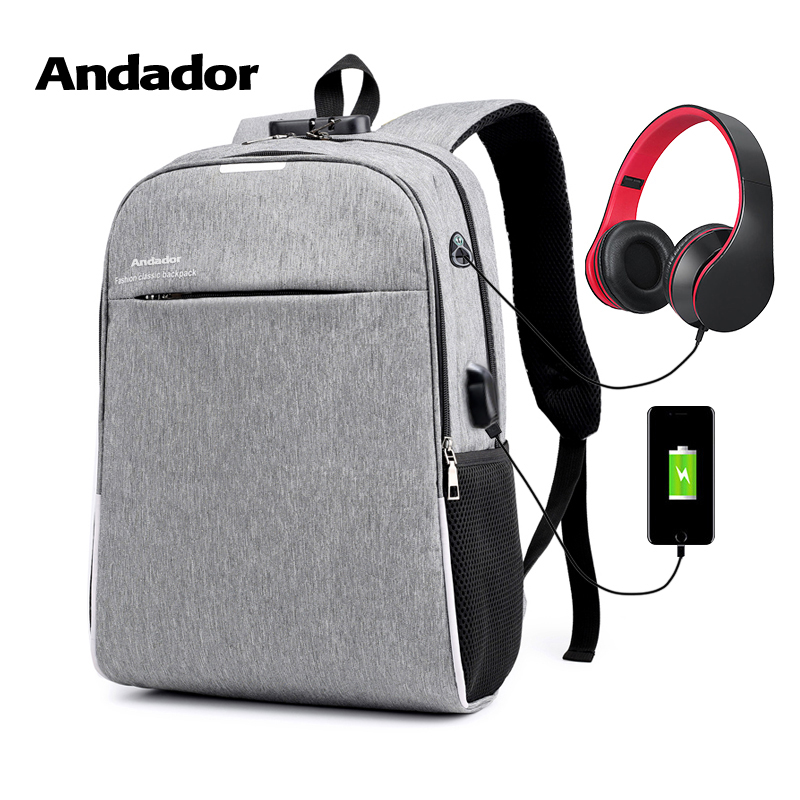 Fashion larger capacity men 15.6 inch laptop backpack leisure anti theft business travel bag male USB charging backpacksFashion larger capacity men 15.6 inch laptop backpack leisure anti theft business travel bag male USB charging backpacks