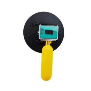 Image 4 - アクセサリー防水15メートルのダイビング透明レンズドームポート付き防水ケース用xiaomi yi xiaoyiカメラ水中