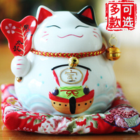 Genuine Japanese Lucky Cat Ornaments Home Furnishing Piggy 4 5 Inch Car Decoration Gift Cute Cat