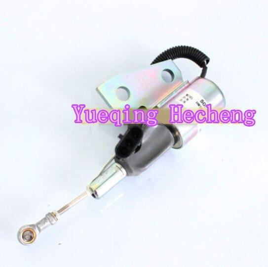 New Fuel Shutoff Solenoid For WA120-3MC WA180-3L WA50 WA500-6 PC150-6KNew Fuel Shutoff Solenoid For WA120-3MC WA180-3L WA50 WA500-6 PC150-6K