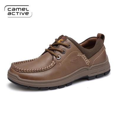 Camel Active men casual wear resistant rubber sole new genuine leather  men's shoes-in Women's Flats from Shoes on Aliexpress.com   Alibaba Group