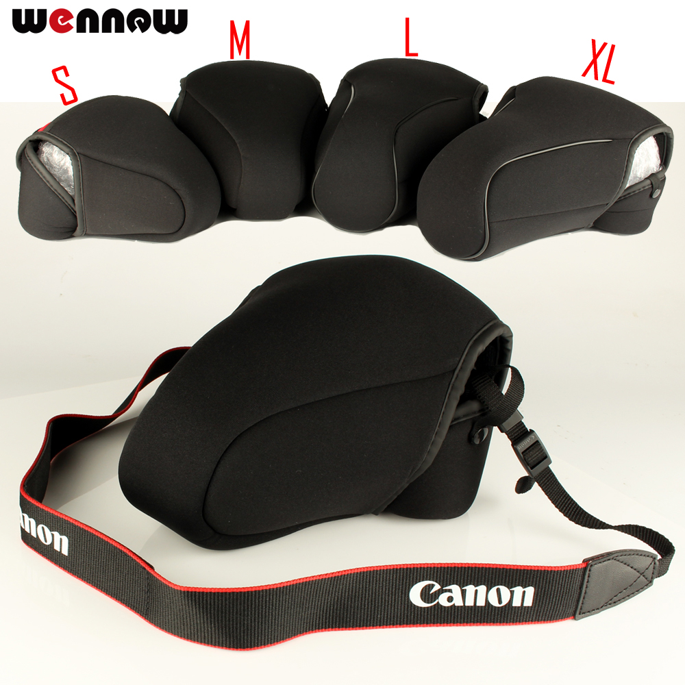 DSLR Kamera Tasche Innere Weiche Fall Abdeckung Für Canon 1300D 200D 800D 1200D 600D 750D 700D 100D 80D 760D 1500D 550D 1100D 650D 7D MII