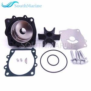 Image 2 - 68V W0078 68V W0078 00 Water Pump Kit For Yamaha 115HP F115 Boat Outboard Motors