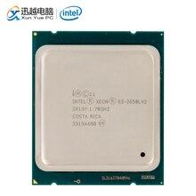 Processeur dordinateur de bureau Intel Xeon E5 2650L V2 2650L V2 dix cœurs 1.7 GHz 25 mo L3 Cache LGA 2011 serveur utilisé CPU