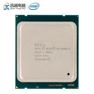 Image 1 - Processeur dordinateur de bureau Intel Xeon E5 2650L V2 2650L V2 dix cœurs 1.7 GHz 25 mo L3 Cache LGA 2011 serveur utilisé CPU