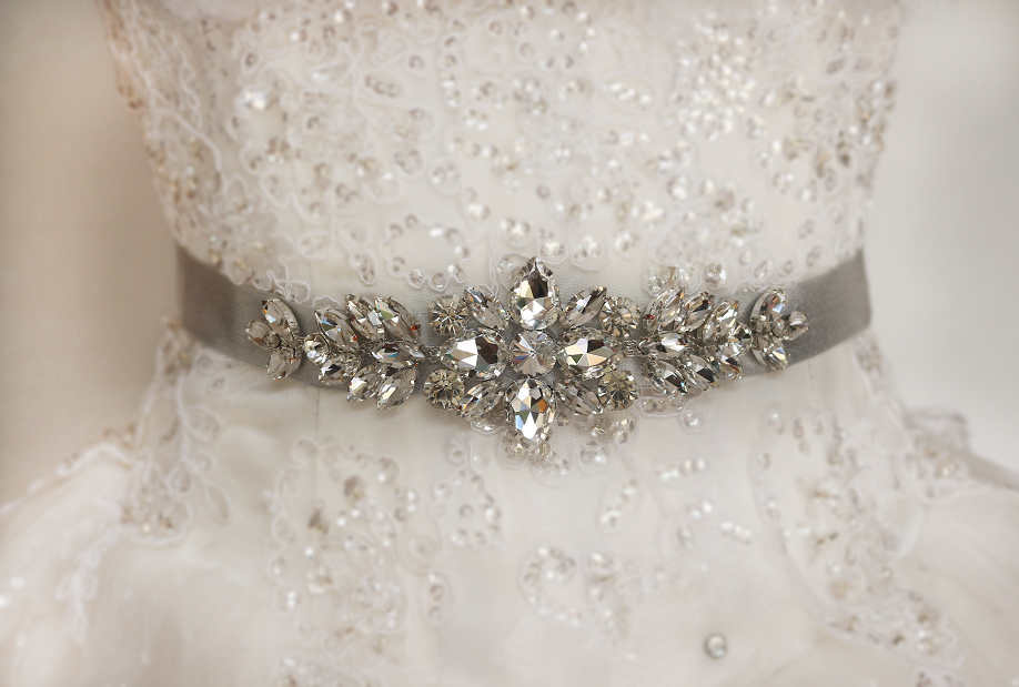 Rhinestone Belts For Wedding Gowns Fashion Dresses