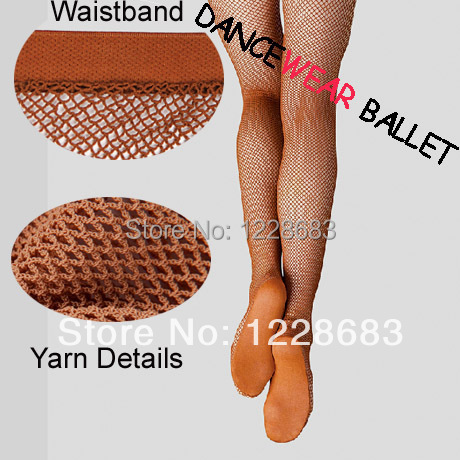 Fri frakt Rabatt Hög kvalitet Hard Stretch Professional Latin Fishnet Dance Tights Ballroom Latin Dance Dress för kvinnor