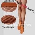 Frete Grátis Discount Alta Qualidade Disco Estiramento Fishnet Collants De Dança de Salão Latina Profissional Vestido de Dança Latina Para As Mulheres