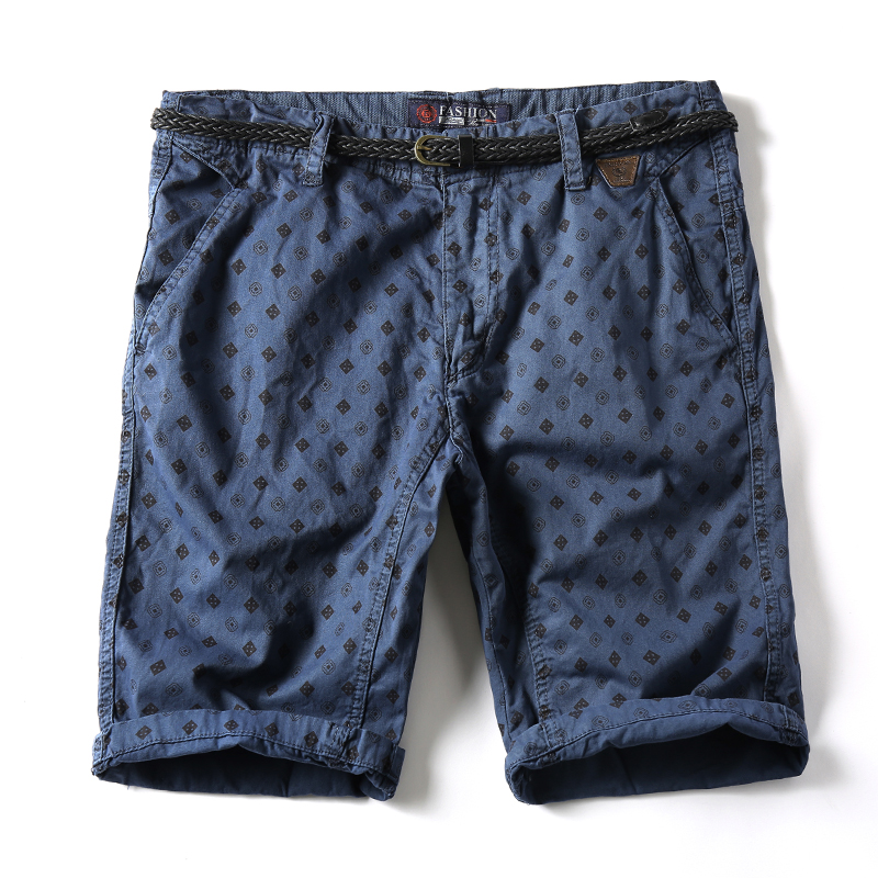 2018 New Arrivals Fashion Men Cargo Shorts Straight Loose Fashion Cotton Mans Short Dot P Trousers Bottoms Shorts Men