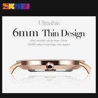 SKMEI Fashion Women Quartz Watches High Quality Waterproof Clock Top Brand Luxury Dress Wristwatches Relogio Feminino