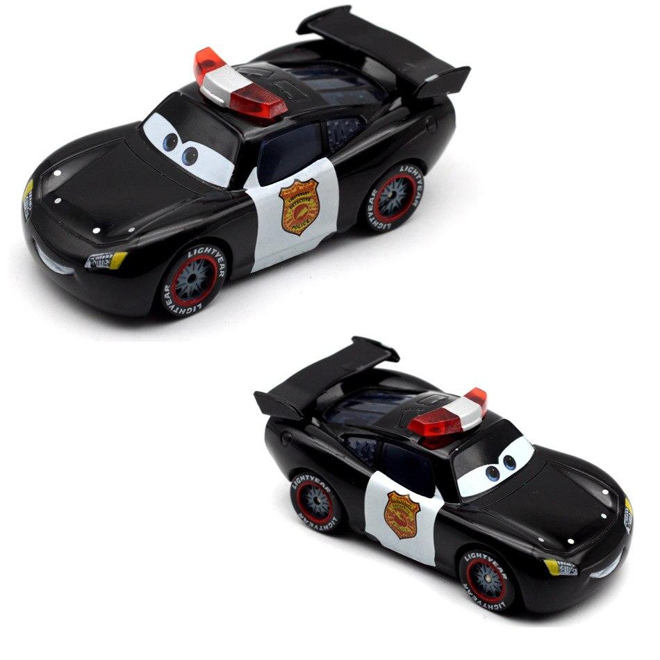 Disney Pixar New Cars 2 3 New Cal Lighting McQueen Jackson Storm Cruz Ramirea 1:55 Diecast Metal Alloy  Kids Christmas Toys
