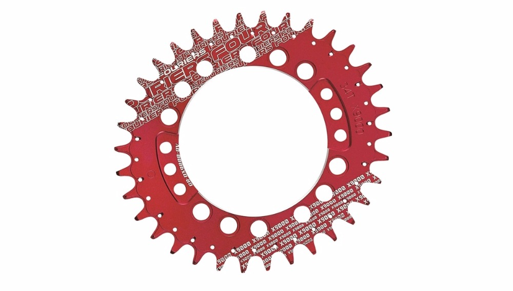цена на FOURIERS CR-DX8000-OV Bike Chainring Chainwheel MTB Road Crankset Parts Narrow Wide chainrings for XT M8000 11 speed bicycle